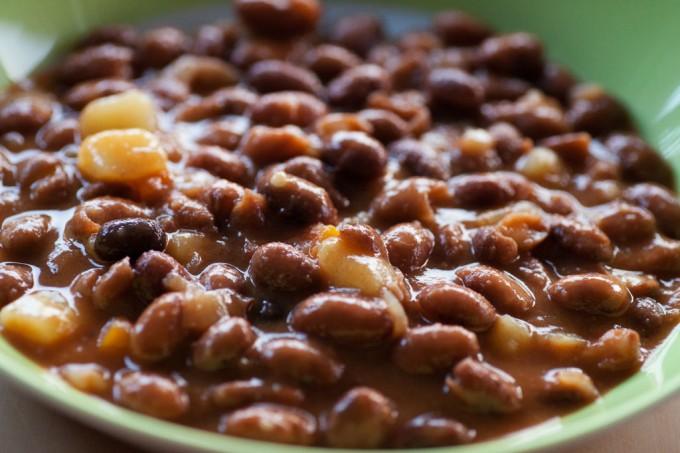 Wachtelbohnen mit Kartoffeln in Tomatensauce – Barbunya