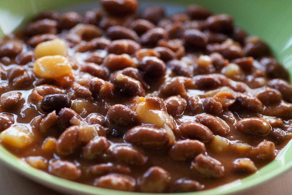 Wachtelbohnen mit Kartoffeln in Tomatensauce - Barbunya.