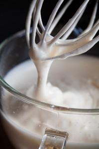 Eierschaum mit Zucker