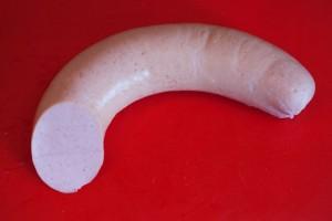 Für klassischen Nudelsalat verwende ich Fleischwurst ohne Knoblauch.