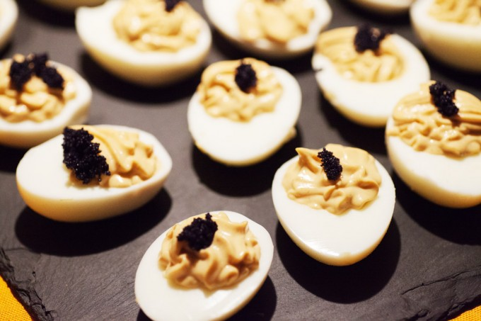 Gefüllte Eier mit Deutschem Kaviar – Russische Eier.