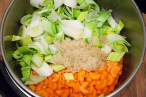 Zutaten für Pirasa im Schnellkochtopf